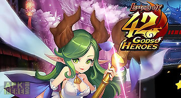 Legends of 42 gods and heroes