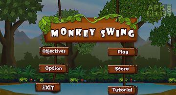 Monkey swingclimbing rope