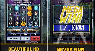 Wolf slots - slot machine