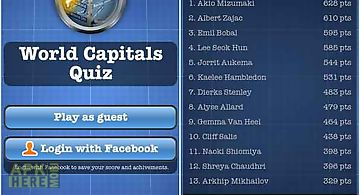 World capitals quiz free