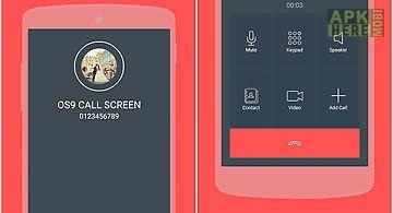 Caller screen os9 id themes