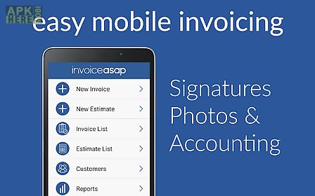 Invoice Asap For Quickbooks For Android Free Download At Apk Here - Quickbooks invoice app
