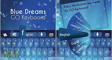 Blue dreams keyboard