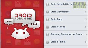Droid forums