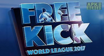 Football free kick world league ..