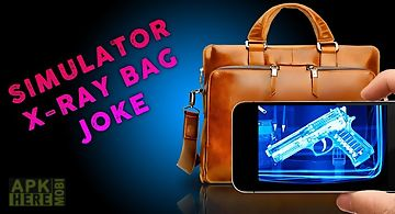 Simulator x-ray bag joke