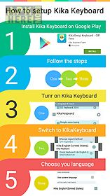 twinkle kika keyboard theme