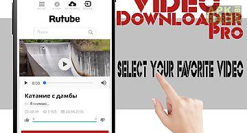 All video downloader pro