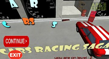 Cars racing hero
