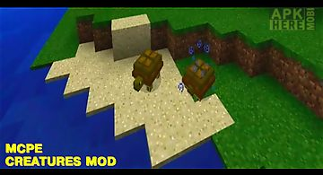 Creatures mod for mcpe