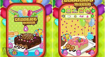 Dessert maker - cooking game