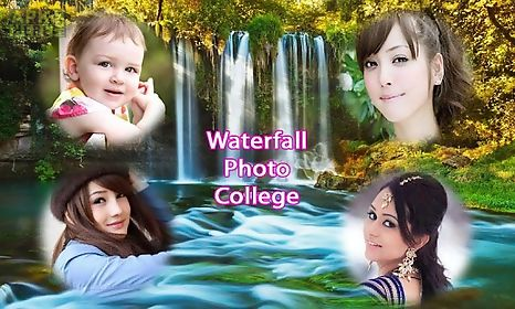 Waterfall photo collage frames for Android free download at Apk Here ...