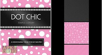 Beautiful pink polka dot theme