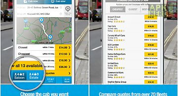 Kabbee - book london minicabs