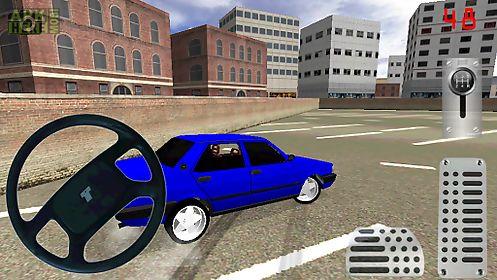 old car drift park simulator