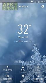 clock&weather forecast - axiom
