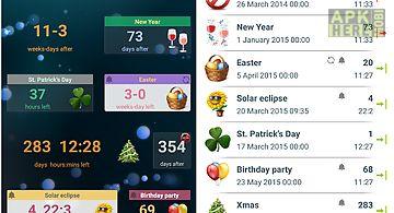 Event countdown widget