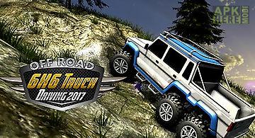 6x6 offroad truck driving simula..