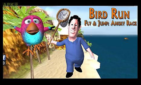 bird run, fly&jump: angry race