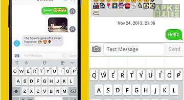 Emoji keyboard+ white theme