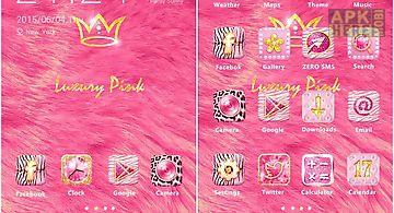 Luxury pink theme