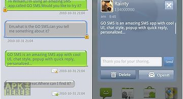 Go sms pro grey theme