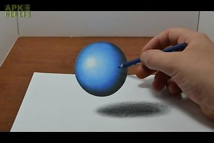 how to draw 3d and illusions