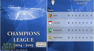 Champions live 2014-2015