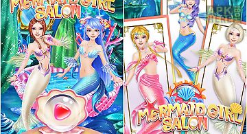 Mermaid girl salon: girl game