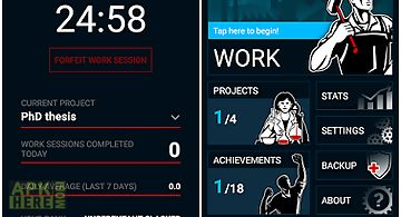 Productivity challenge timer for Android free download at