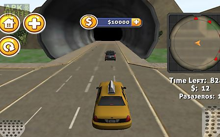 3d duty taxi driver game
