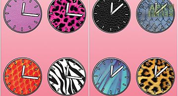 Animal clocks - free