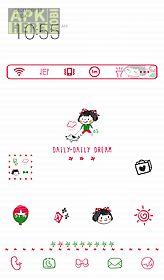daily daily dream dodol theme
