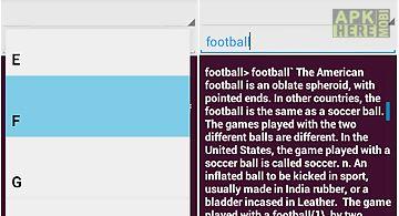 English++ offline dictionary