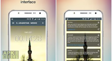 Universal prayer times & qibla for Android free download at