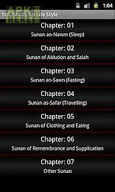 100 hadith on life style
