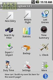 aviation pilot logbook