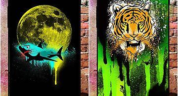 Graffiti neon wallpapers