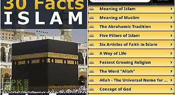 Islam - 30 facts