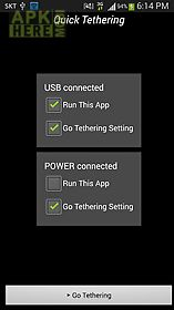 quick usb tethering wifi