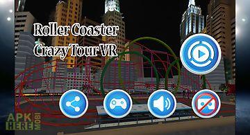 Roller coaster crazy tour vr
