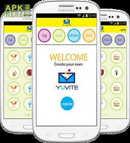 Yuvite invitation creator for android free download at apk here yuvite invitation creator stopboris Image collections