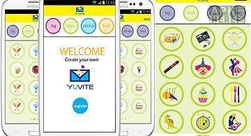 Yuvite invitation creator