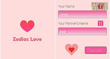 Zodiac love calculator