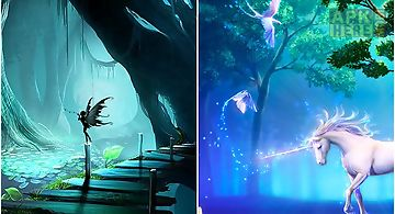 Fairy forest by iroish Live Wall..