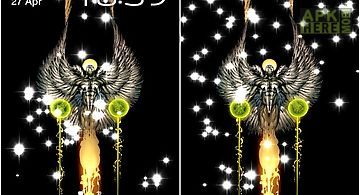 Glitter angel Live Wallpaper