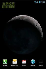 moon phases live wallpaper