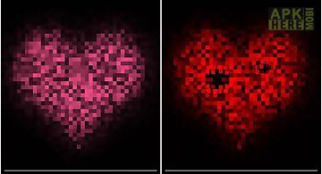 Pixel heart Live Wallpaper