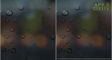 Rain drops live 3d wallpaper  Li..