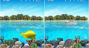 Tropical ocean Live Wallpaper